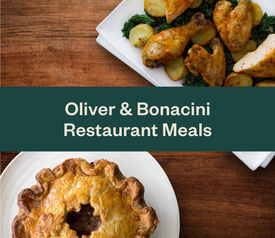 Oliver & Bonacini Dishes at Home