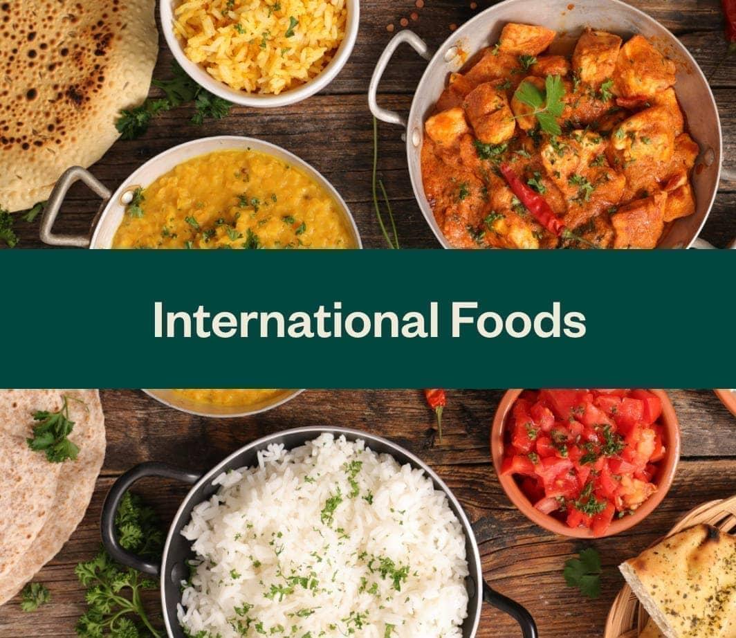 Shop international food