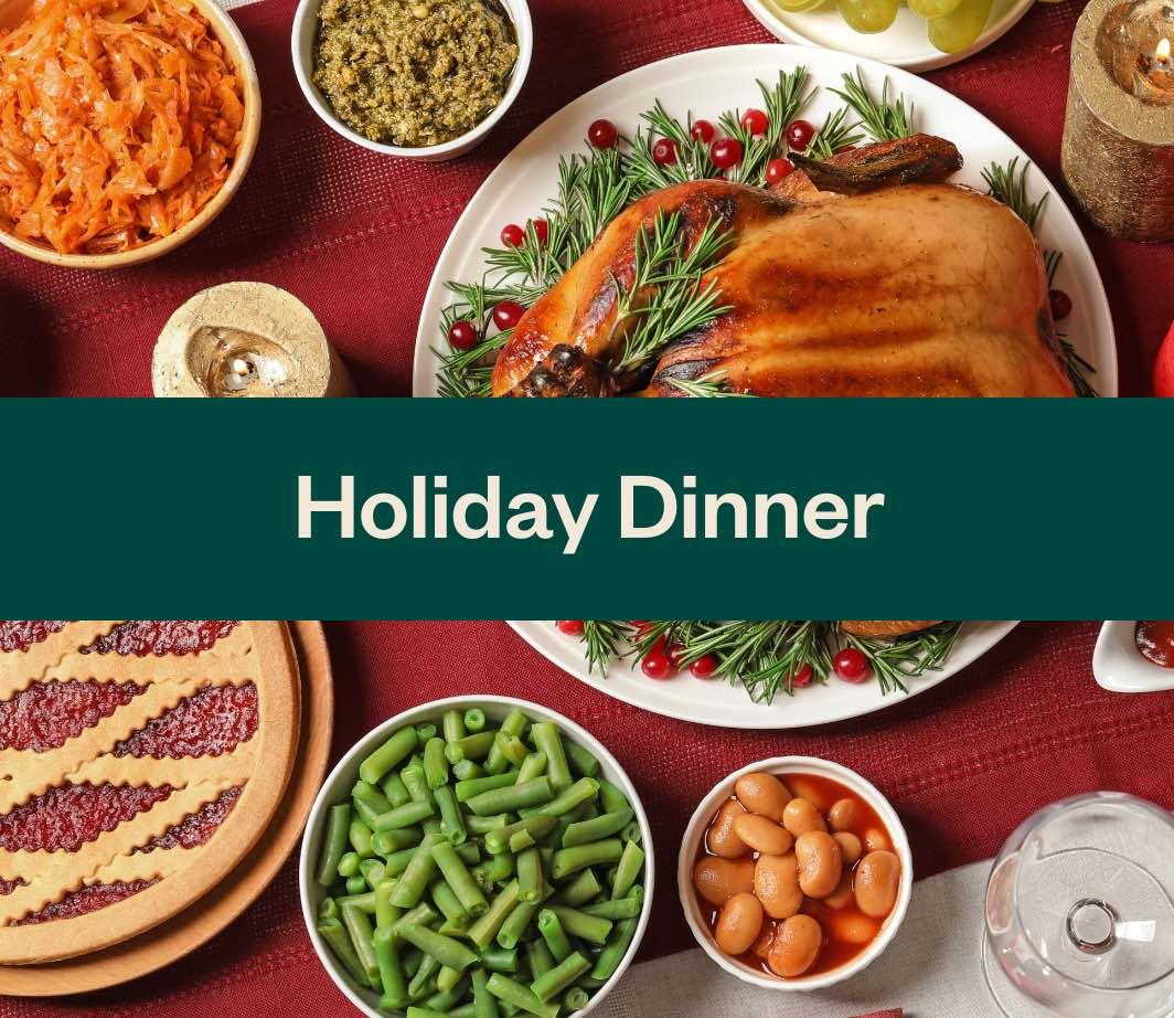 Shop Holiday Dinner