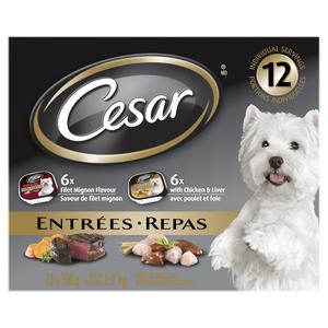 Cesar Filet Mignon Dog Food 12 Pack / 1.2 kg
