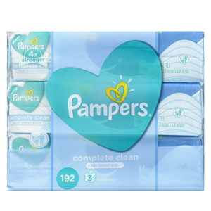 Pampers Complete ClSheetsn Scented Baby Wipes 216 Sheets