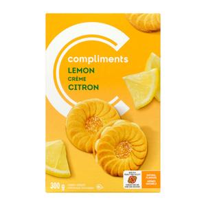 Compliments Lemon Creme Cookies 300 g
