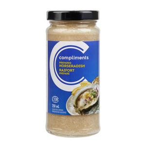 Compliments Prepared Regular Horseradish 250 ml