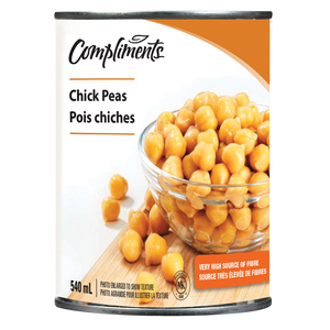 Compliments Chick Peas 540 ml
