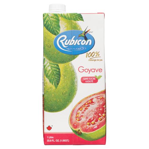 Rubicon Guava Juice Drink No Sugar Added 1 L