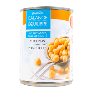 Compliments Chick Peas No Salt Added 540 ml