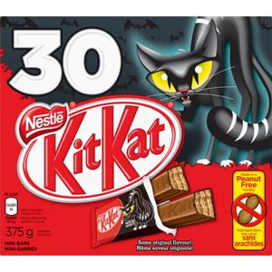 Kit Kat Mini Chocolate Bars Halloween Candy 30 EA 375 g