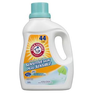 Arm & Hammer Sensitive Skin Liquid Laundry Detergent Fresh Scent 44 Loads 2.03 L