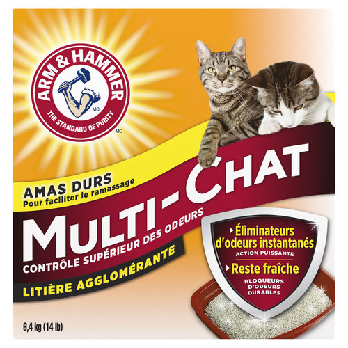 Arm & Hammer Multi-Cat Clumping Litter 6.4 kg