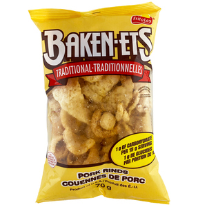 Baken-ets Traditional Smoked Pork Rinds 70g