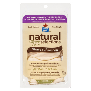 Maple Leaf Natural Selection Hickory Smoked Turkey Breast 175 g