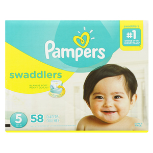 Pampers Swaddlers Super S5 58 EA