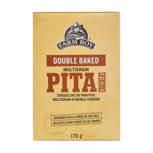 Farm Boy Double Baked Pita Crackers Multigrain 170 g
