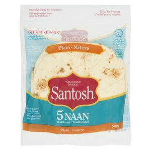 Santosh Naan Plain 500 g