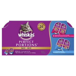 Whiskas Perfect Portion Seafood Cat Food 12 x 75 g