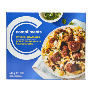Compliments Meatballs Swedish 680 g