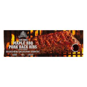 Farm Boy Pork Back Ribs Maple BBQ 800 g