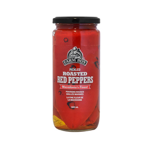 Farm Boy Pickled Roasted Red Peppers 500 ml