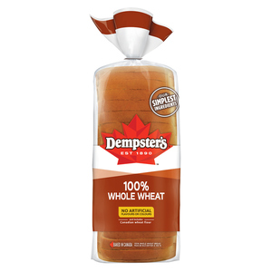 Dempster's 100% Whole Wheat Bread 675 g