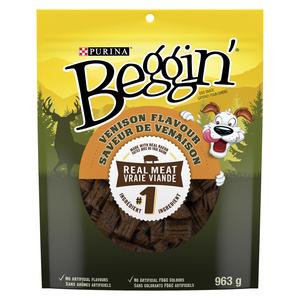 Beggin' Venison Dog Treats 963 g