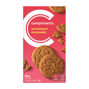 Compliments Gingersnap Cookies 300 g