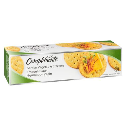 Compliments Garden Vegetable Crackers 225 g