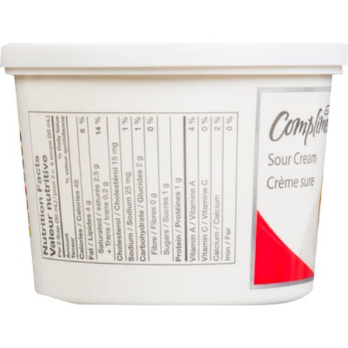 Compliments 14% Sour Cream 500 ml