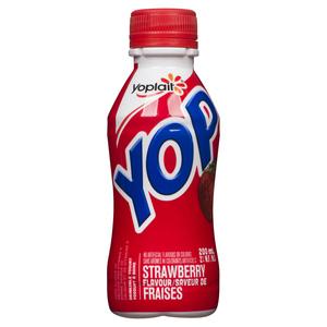 Yoplait Yop Strawberry Drinkable Yogurt 200 ml
