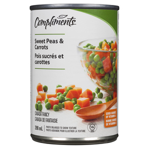 Compliments Peas & Carrots 398 ml