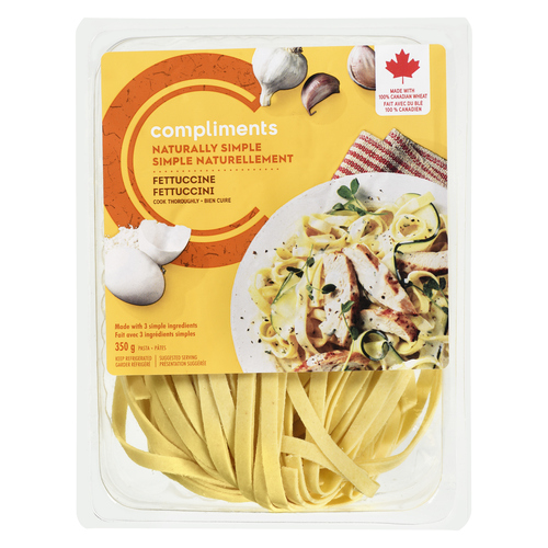 Compliments Naturally Simple Fettuccine Pasta 350 g
