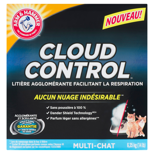 Arm & Hammer Cloud Control Multi-Cat Clumping Litter 6.35 kg