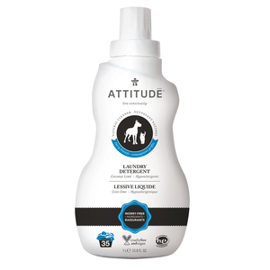 Attitude Furry Friends Laundry Detergent Coco Lime 1.04 L