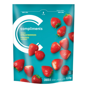 Compliments Whole Strawberries 1.5 kg