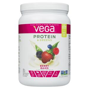 Vega Protein & Greens SM Berry Nutritional Shake Powder 522 g