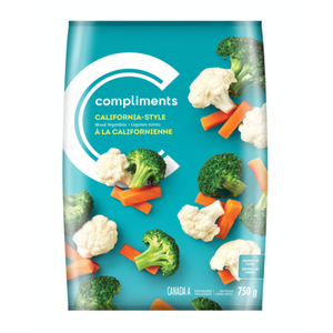Compliments California Style Mixed Vegetables 750 g