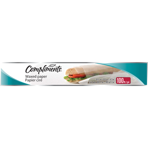 Compliments Wax Paper 30.5 M
