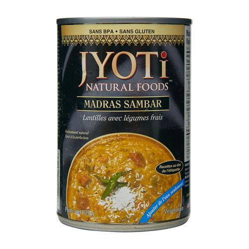 Jyoti Natural Foods Indian Madras Sambar 425 g