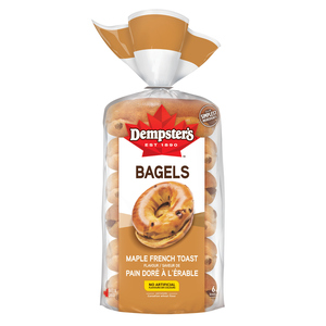 Dempster's Bagels Maple French Toast Flavour 6 Pack 450 g