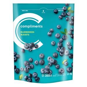 Compliments Blueberries Frozen Fruit 1.5 kg