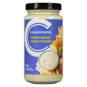 Compliments Tartar Sauce 250 ml