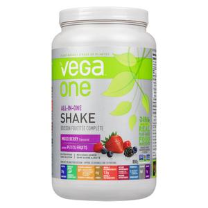 Vega One All-In-One Berry Nutritional Shake Powder 850 g