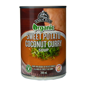 Farm Boy Organic Soup Sweet Potato Coconut Curry 398 ml