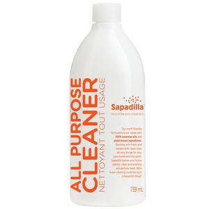 Sapadilla Grapefruit + Bergamot All Purpose Cleaner 750 ml