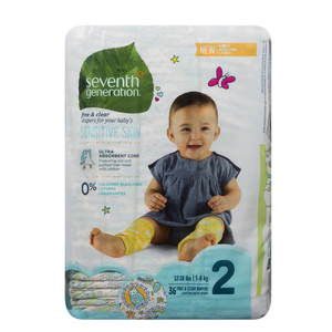 Seventh Generation Stage 2 Diapers 36 EA