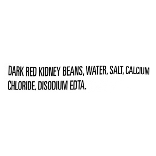 Compliments Dark Red Kidney Beans In Water 540 ml