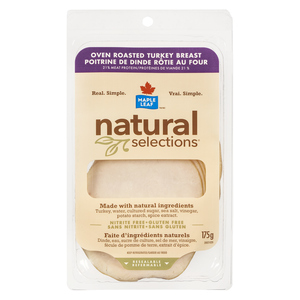 Maple Leaf Natural Selections Oven Roasted Turkey Breast 175 g