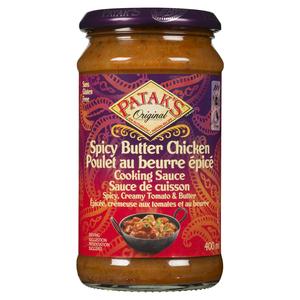 Patak's Spicy Butter Chicken Sauce 400 ml