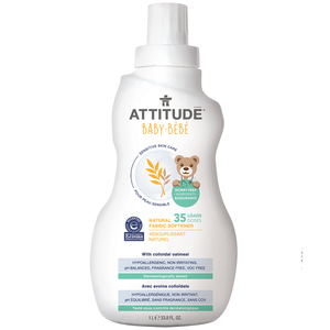 Attitude Natural Fabric Softener for Baby 1 L