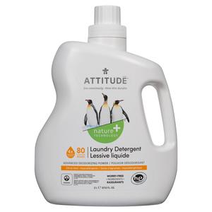 Attitude Citrus Zest Laundry Detergent 80 Loads 2 L