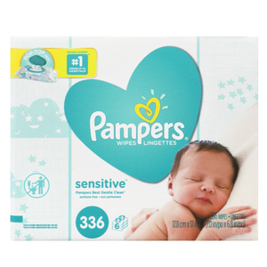Pampers Sensitive Baby Wipes 316 Sheets